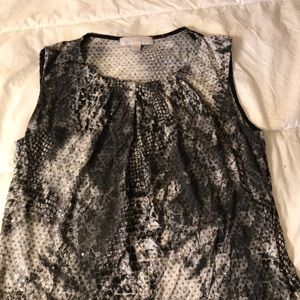 Laura Ashley Sequin Top